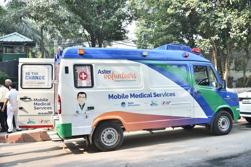 Mobile Medical Van coverage area - Alshifa